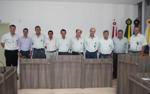 Prefeito Lucimar e Veradores municipais em busca do melhor  para Abdon Batista (1)